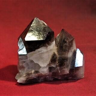 ブラジル産 モリオン375g 黒水晶 鑑賞石 石標本