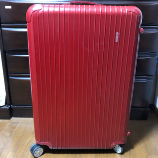 RIMOWA リモワ スーツケース レッド ポリカーボネート 大...