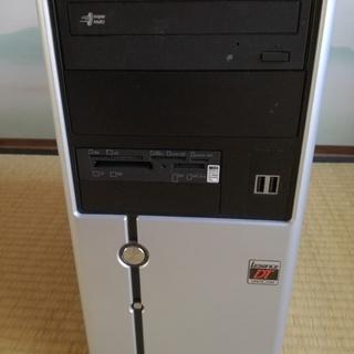 買い替えのため、デスクトップパソコンの処分です