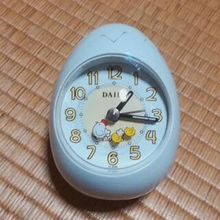 (内定)【新品】たまご型目覚まし時計