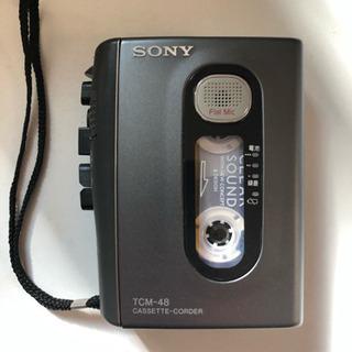 SONY TCM-48 カセットレコーダー