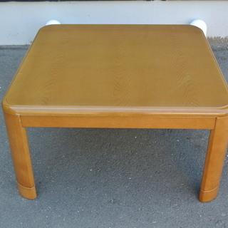 【先着順】テーブル こたつ コードなし 高さ調整可 幅80cm ...