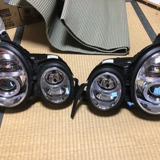 w210社外ヘッドライト ロービームキセノン