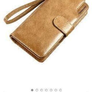 本革製メンズ 大容量 長財布 小銭入れ 多機能 クラッチ 携帯財布