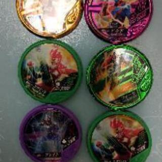 仮面ライダーブットバソウルメダル7枚(かぶり1組あり)