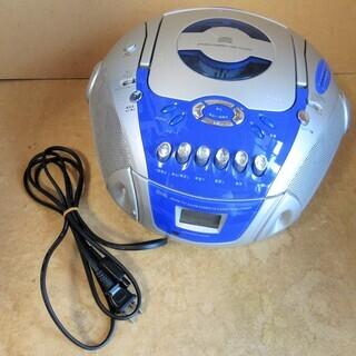 ☆オーム電機 OHM JMCD-B117 CDラジオカセットレコ...