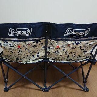 コールマン 未使用 2人掛けチェア 椅子 イベント アウトドア