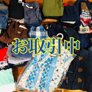 (お取引中)男の子の服 80サイズ90サイズ計44点