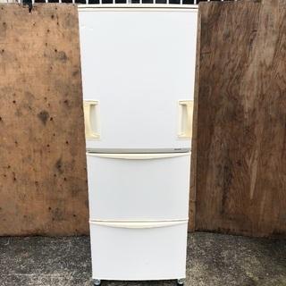 【配送無料】どっちもドア 345L 冷蔵庫 SHARP SJ-W...