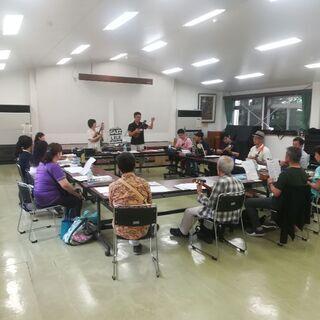 日本語学習者とウクレレで交流