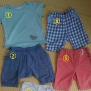 男児夏服色々18点 サイズ80