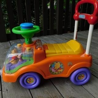 アイデス製クマのプーさん乗用玩具