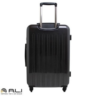 A.L.I 超軽量スーツケース ブラック 29L ポリカーボネー...