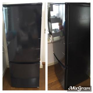冷蔵庫 SHARP 2008年製 黒 動作良好