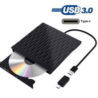 【新品・未使用】DVDドライブ USB3.0 外付け CD…