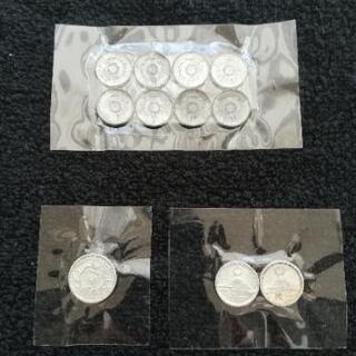 古銭 1銭・10銭・1円
