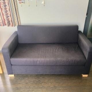 【譲ります】IKEAのソファベッド(solsta)