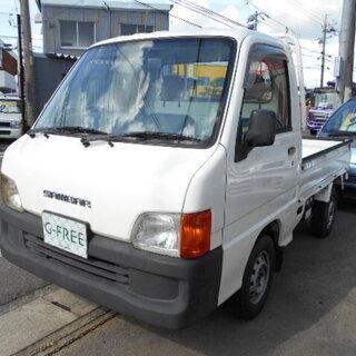 平成11年式 スバル サンバートラック TC 三方開 4WD エ...