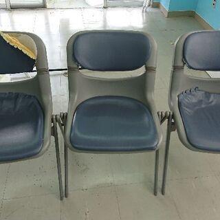 会議用椅子(紺)