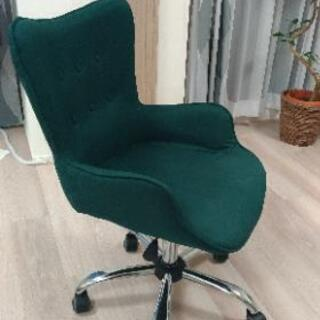 緑オフィスチェア 使用期間2ヶ月