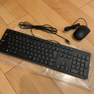 【未使用】DELLキーボード、マウス