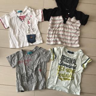 Tシャツ 男の子 90 今のところ5枚 BEBE ニットプランナ...