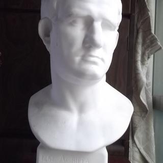 石膏像 アグリッパ胸像