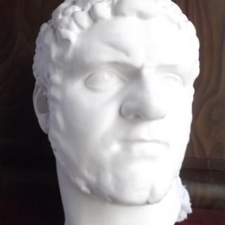 石膏像 カラカラ帝半面像