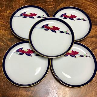 【美品】香蘭社の薄皿5点セット