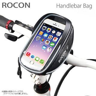 スマートフォン タッチ窓付き 自転車用 ハンドルバッグ