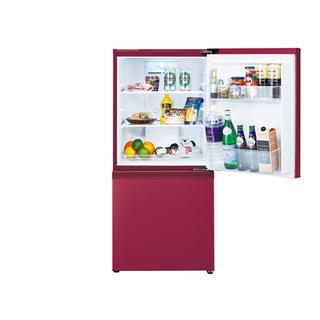 AQUA アクア 2ドア冷凍冷蔵庫 AQR-16H-R ルージュ...