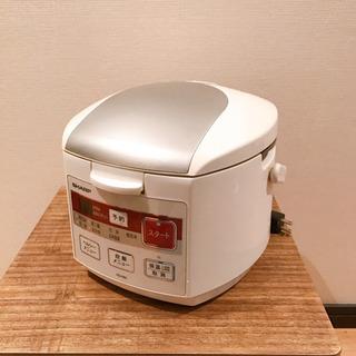 【美品】シャープ 炊飯器