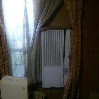窓かけエアコン