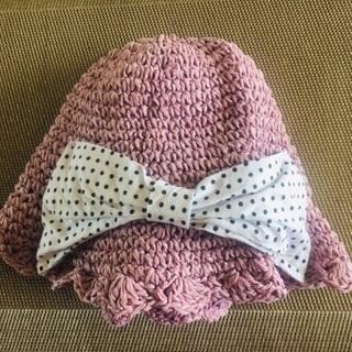 幼児 女の子 帽子 サイズ48