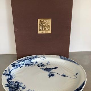 龍峰窯の大皿