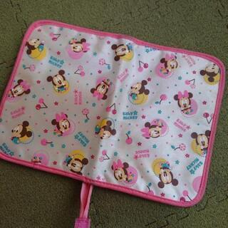 白×ピンク母子手帳ケース