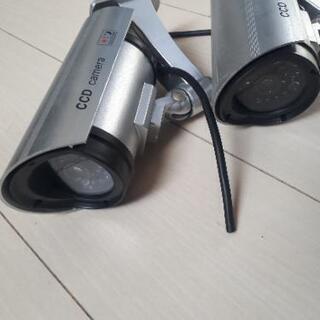 ダミーCCDカメラ 二個セット