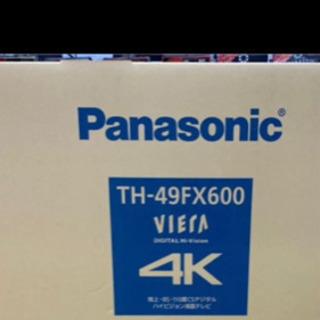 49型 4k 対応 Panasonic テレビ 新品!