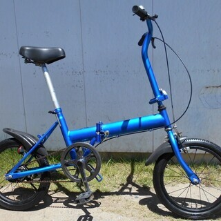 16インチ折り畳み自転車分解点検整備済