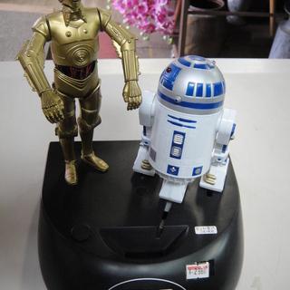 スターウォーズ R2D2 C3PO貯金箱 ホビー