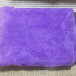 【取引終了】毛布 紫