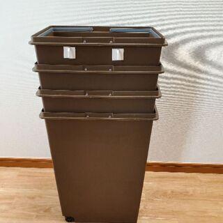 ゴミ箱四個セット