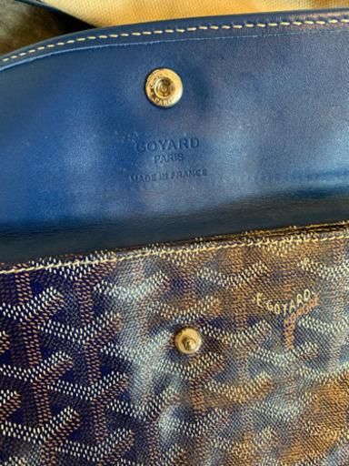 new style b633d 39350 8/9まで【ゴヤールネイビーpm】オマケバッグインバッグ付 (お盆前セール中) 港のバッグの中古あげます・譲ります|ジモティーで不用品の処分