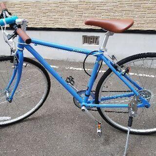 【ほぼ新品】クロスバイク 北海道札幌・すすきの周辺で受け取り可能な方
