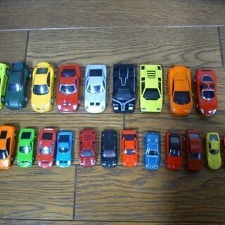 スーパーカー ミニカー 22台セット
