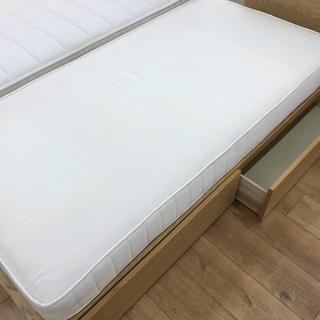 無印良品 収納付シングルベッド