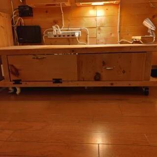 DIY ハンドメイド テレビ台 テレビボード 棚