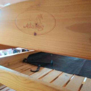 ニトリで購入した二段ベッド
