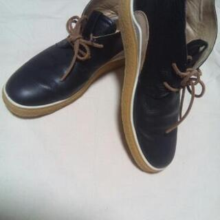 ECCO エコー ラバーソール 革靴