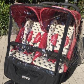 エアーバギ― ココ 双子 ダブル ベビーカー